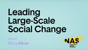 Leading Large-Scale Social Change
